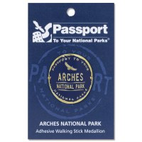 Arches Passport Hiking Medallion
