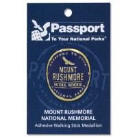Mount Rushmore Passport Hiking Medallion