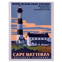 Cape Hatteras Retro Magnet