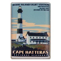 Cape Hatteras Retro Pin