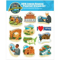 2018 Junior Ranger Sticker Set