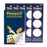 Passport and 5 Stampable Sticker Sets