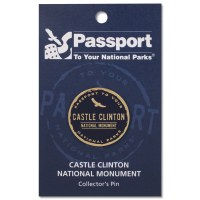 Passport Pin Castle Clinton