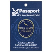 Castle Clinton Passport Hiking Medallion