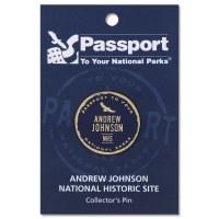 Andrew Johnson Passport Pin