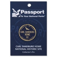 Carl Sandburg Passport Pin