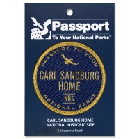 Carl Sandburg Passport Patch