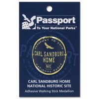 Carl Sandburg Passport Hiking Medallion