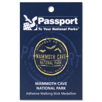 Mammoth Cave Passport Hiking Medallion