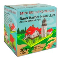 Bass Harbor Head Light Mini Blocks