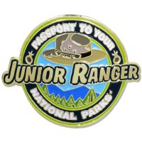 Junior Ranger Passport Hiking Medallion
