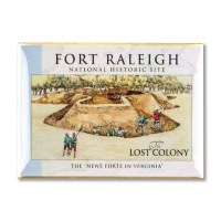 Fort Raleigh Lost Colony Pin