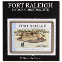 Fort Raleigh Lost Colony Decal