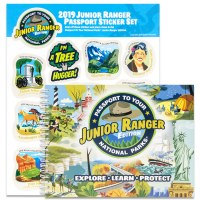 Junior Ranger Passport and 2019 Junior Ranger Sticker Set