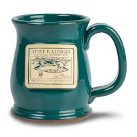 Fort Raleigh Teal Mug