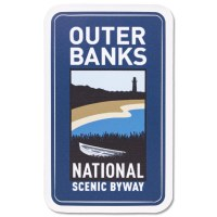Outer Banks Byway Decal