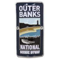 Outer Banks Byway Hiking Medallion