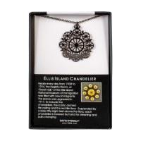 Ellis Island Chandelier Necklace