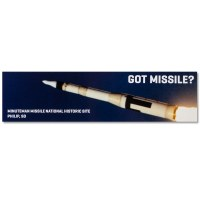 Got Missile? Bumper Sticker