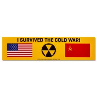 I Survived the Cold War! Bumper Sticker