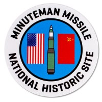 Minuteman Missile NHS Sticker