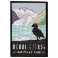Kenai Fjords Trailblazer Patch