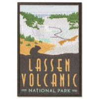 Lassen Volcanic Trailblazer Patch