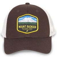 Mount Rainer Net Back Cap
