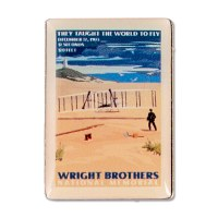 Wright Brothers Retro Lapel Pin