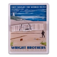 Wright Brothers Retro Magnet