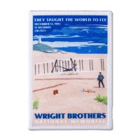 Wright Brothers Retro Patch