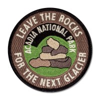Leave the Rocks Acadia Patch
