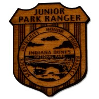 Indiana Dunes Junior Ranger Badge