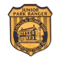 Junior Ranger Lincoln Home Badge