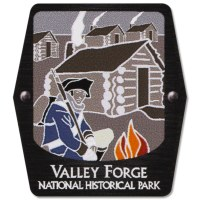 Valley Forge NHP Trekking Pole Decal