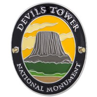 Traveler Series Devils Tower Hiking Medallion