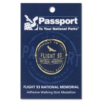 Flight 93 Passport Hiking Medallion