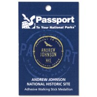 Andrew Johnson Passport Hiking Medallion