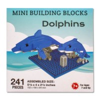 Dolphins Mini Blocks