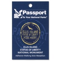 Ellis Island Passport Hiking Medallion
