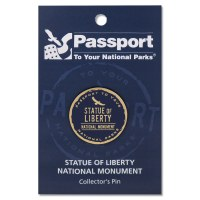 Statue of Liberty Passport Pin