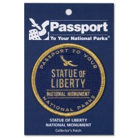 Statue of Liberty Passport Patch