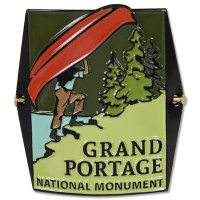 Grand Portage National Monument Hiking Medallion