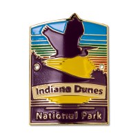 Indiana Dunes National Park Hiking Medallion