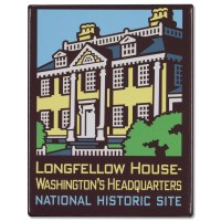 ANP Longfellow House Magnet