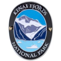 Traveler Series Kenai Fjords Hiking Medallion