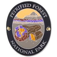 Traveler Series Petrified Forest Hiking Medallion