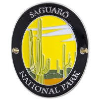 Traveler Series Saguaro Hiking Medallion