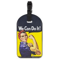 Rosie the Riveter Luggage ID Tag