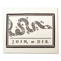 Join or Die Microfiber Cloth